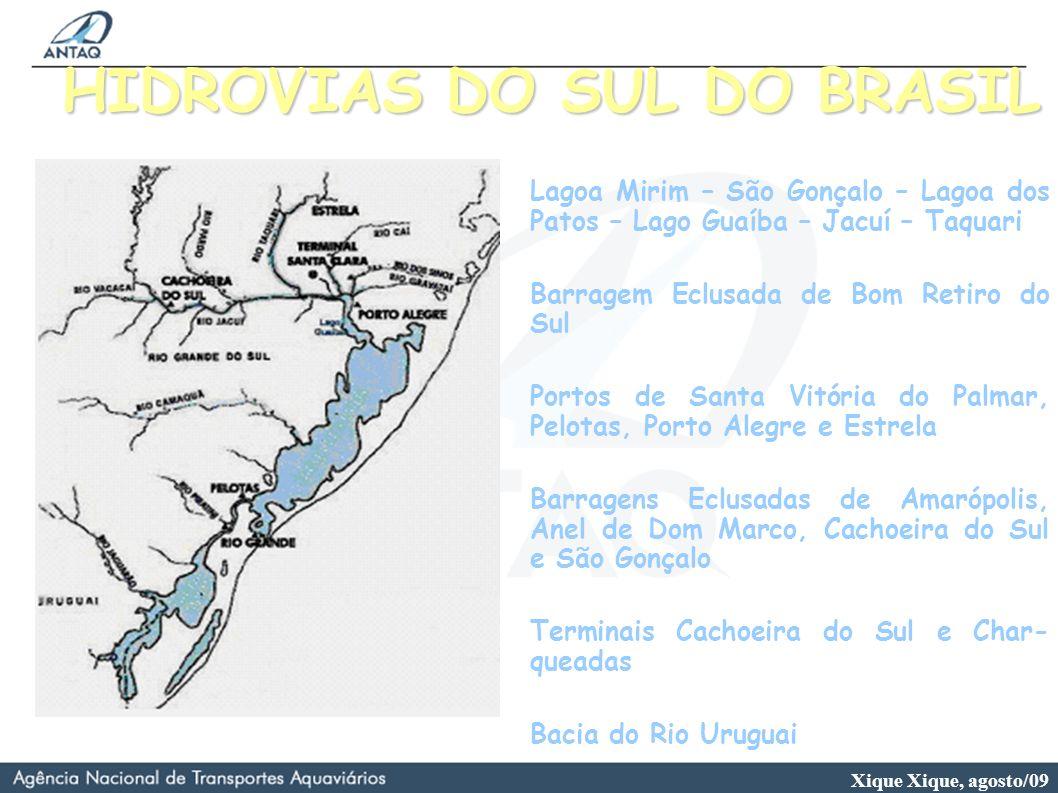 HIDROVIAS DO SUL DO BRASIL