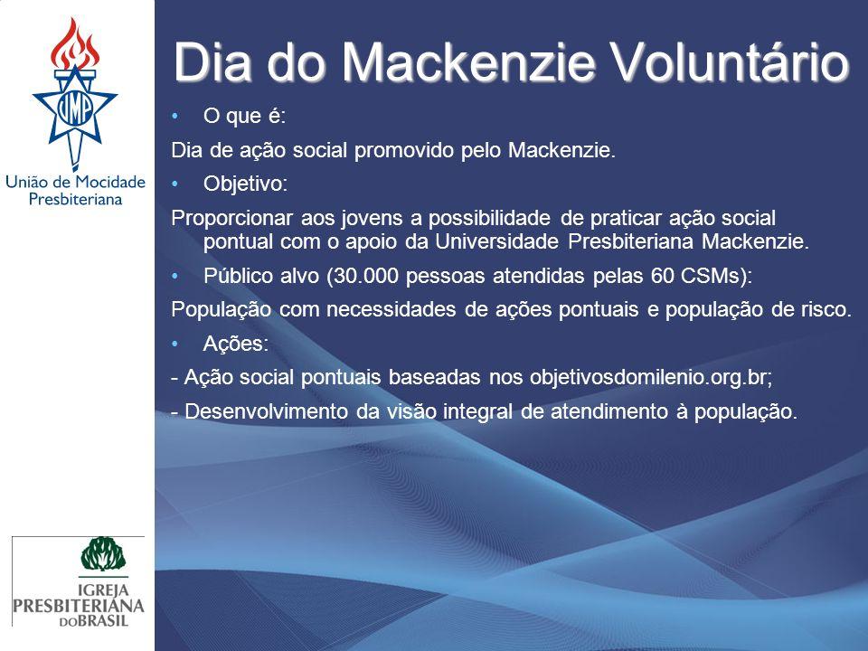 Dia do Mackenzie Voluntário