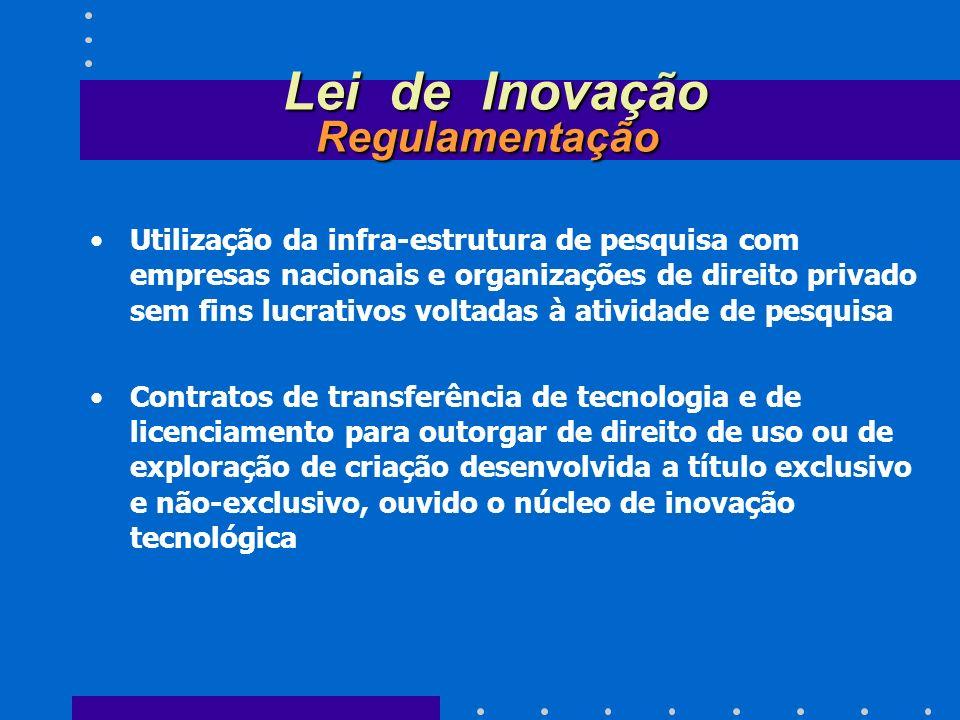 Lei de Inovação Regulamentação