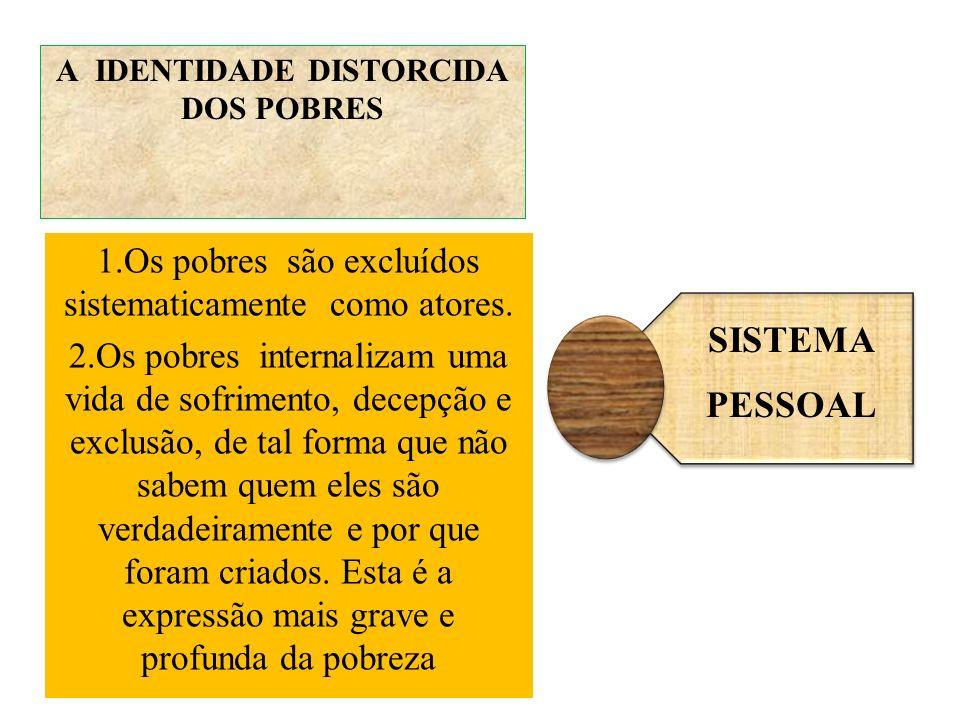 A IDENTIDADE DISTORCIDA DOS POBRES