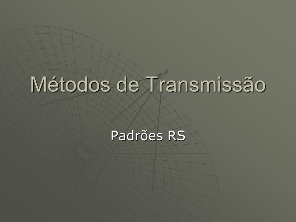 Métodos de Transmissão