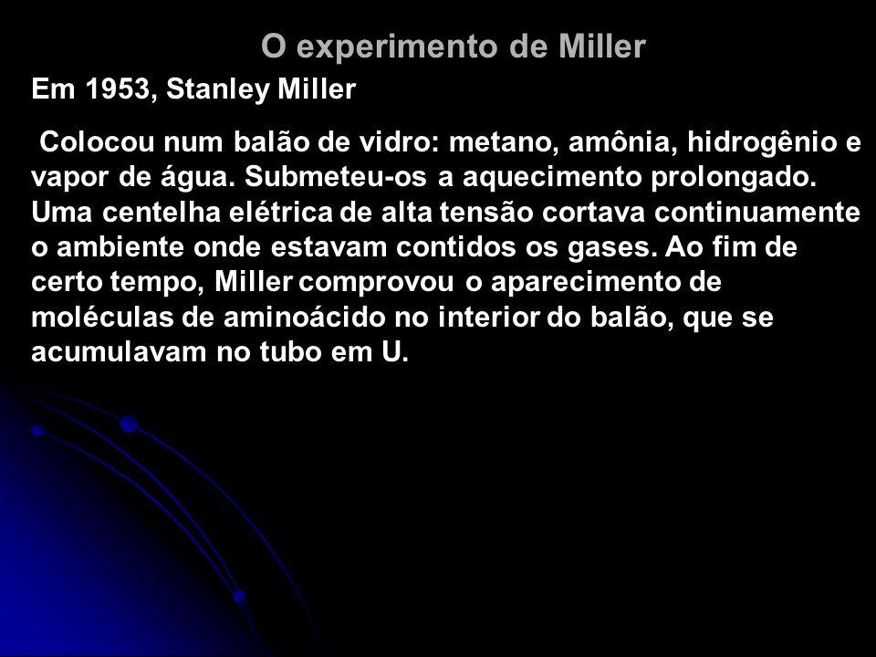 O experimento de Miller