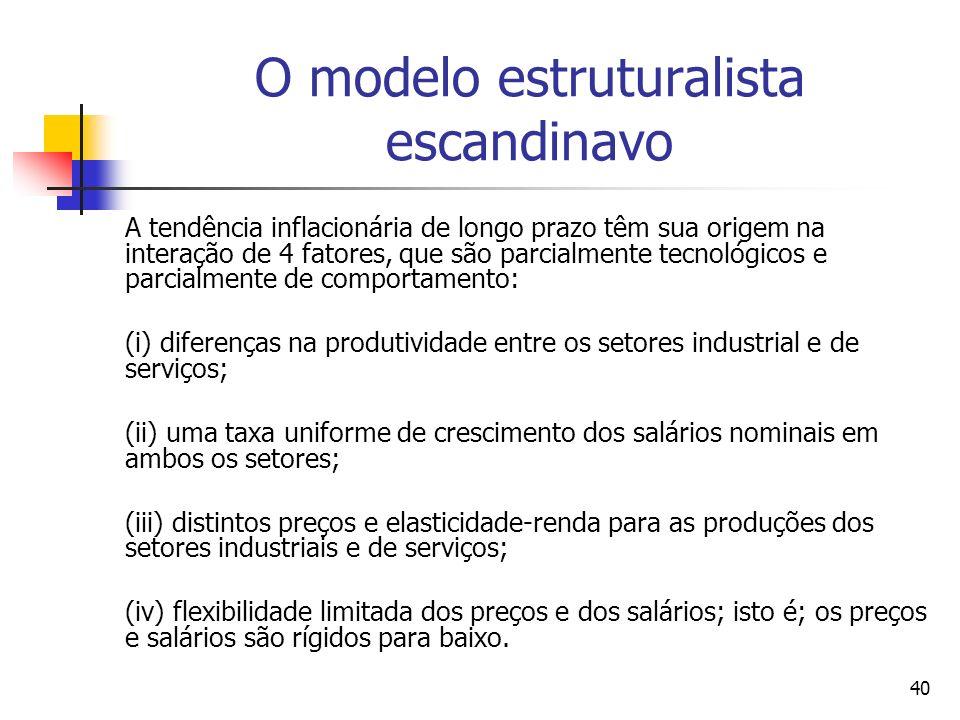 O modelo estruturalista escandinavo