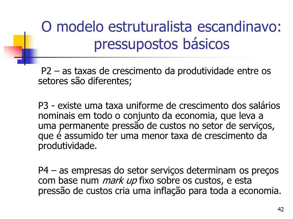 O modelo estruturalista escandinavo: pressupostos básicos