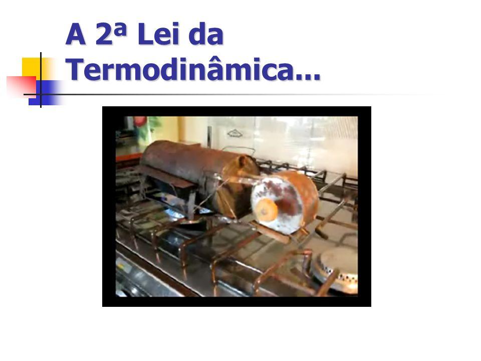 A 2ª Lei da Termodinâmica...
