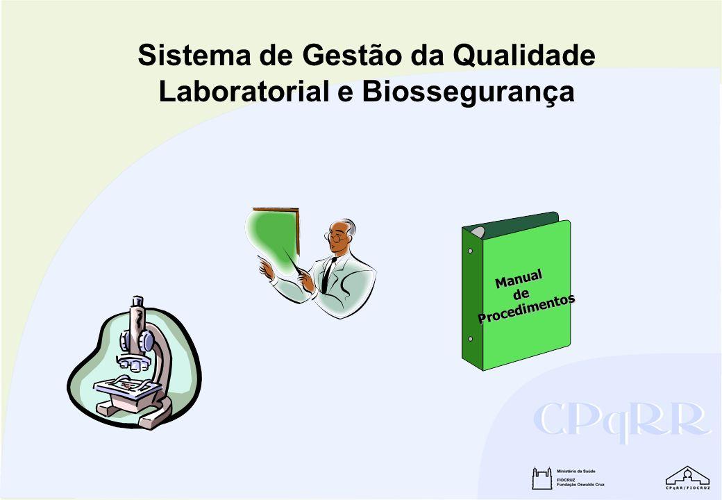Sistema de Gestão da Qualidade Laboratorial e Biossegurança