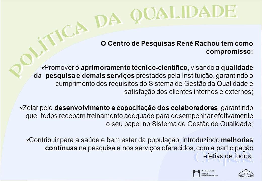 O Centro de Pesquisas René Rachou tem como
