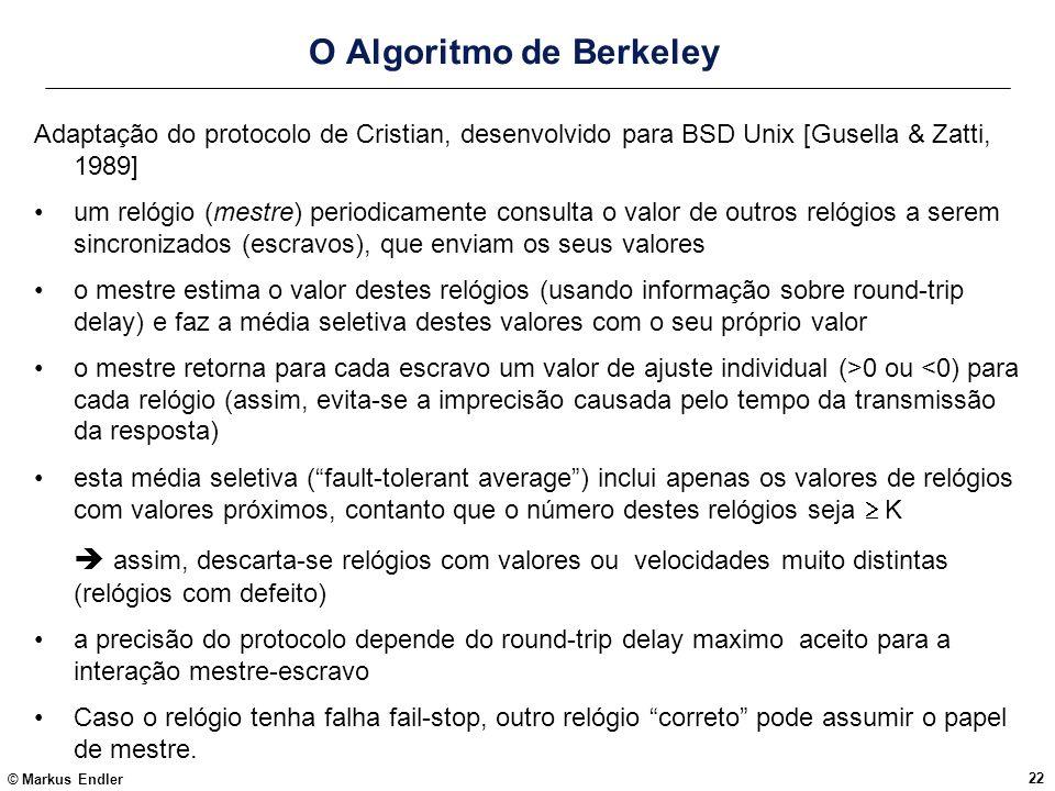 O Algoritmo de Berkeley