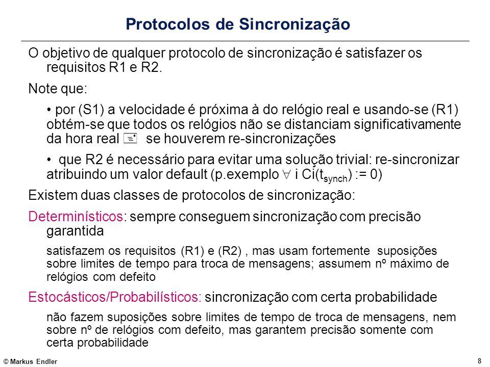 Protocolos de Sincronização