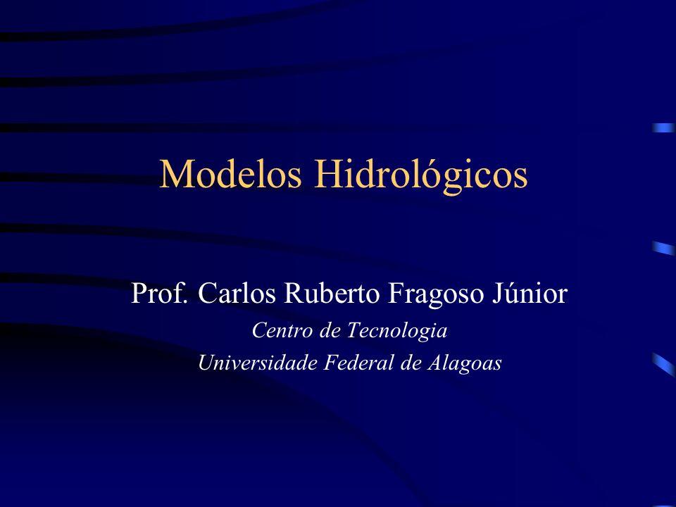 Modelos Hidrológicos Prof. Carlos Ruberto Fragoso Júnior