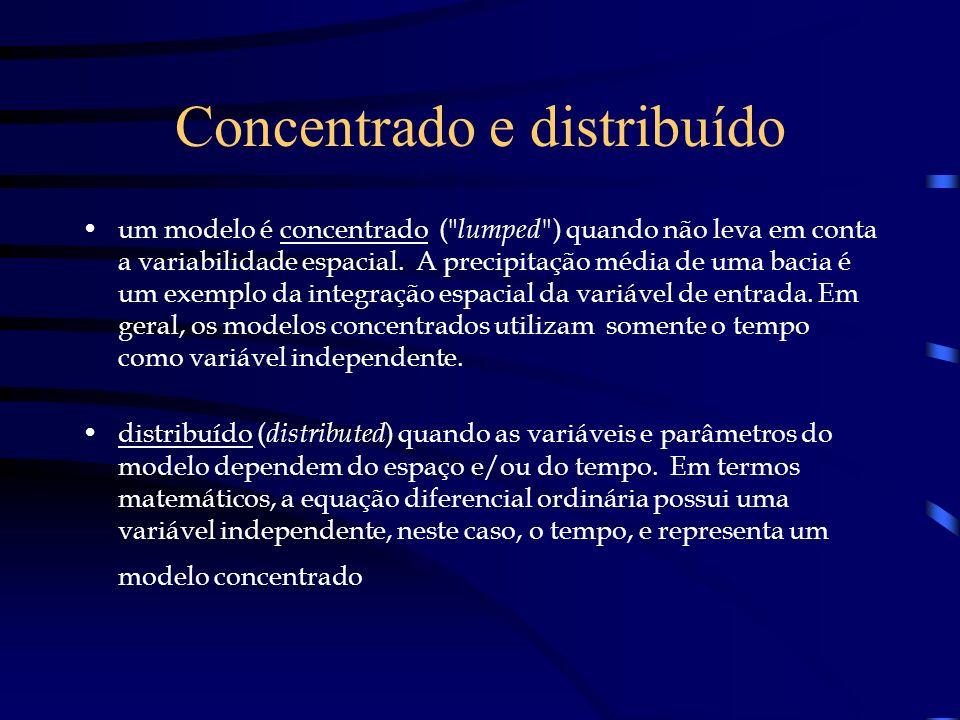 Concentrado e distribuído