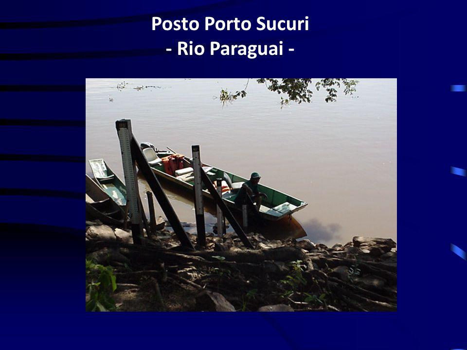Posto Porto Sucuri - Rio Paraguai -