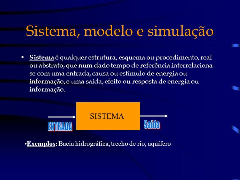 Sistema, modelo e simulação