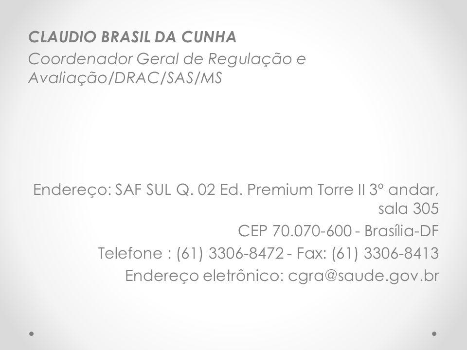 CLAUDIO BRASIL DA CUNHA