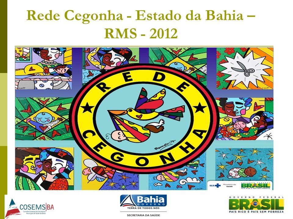 Rede Cegonha - Estado da Bahia – RMS - 2012