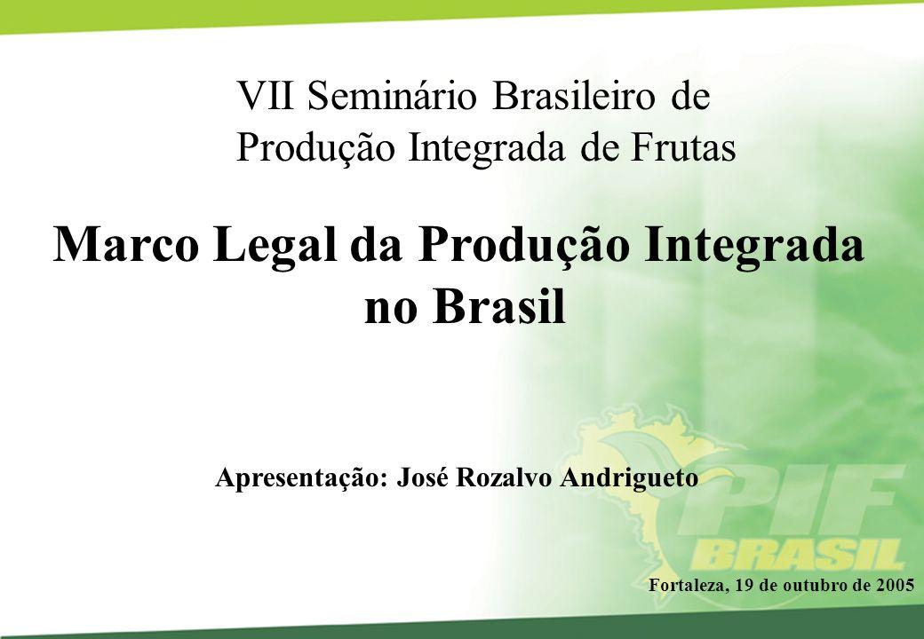 Marco Legal da Produção Integrada