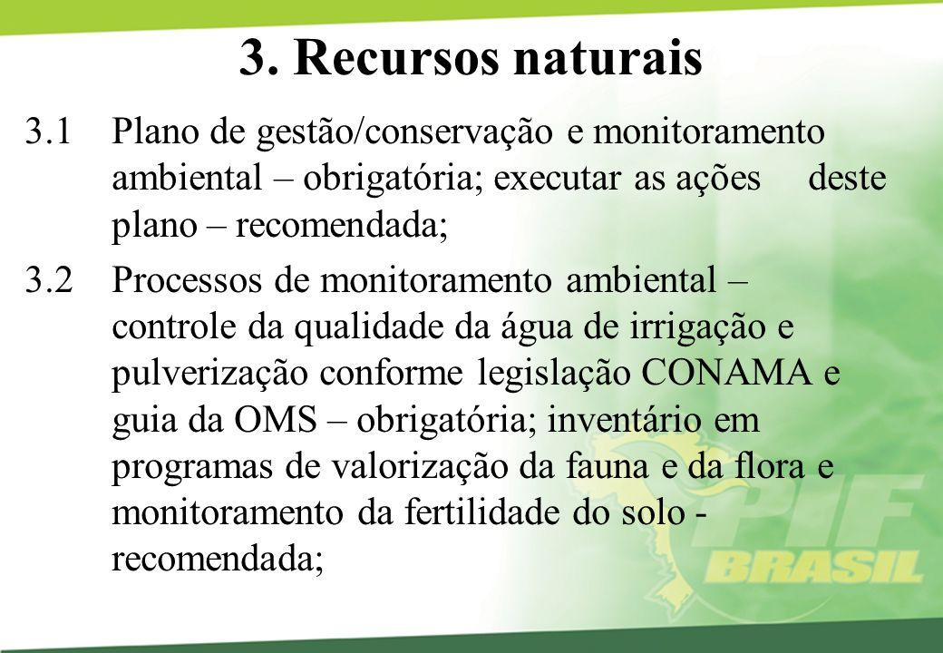 3. Recursos naturais