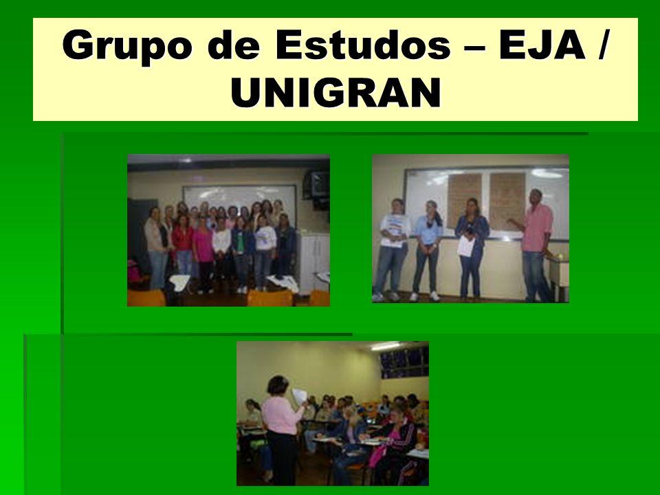 Grupo de Estudos – EJA / UNIGRAN