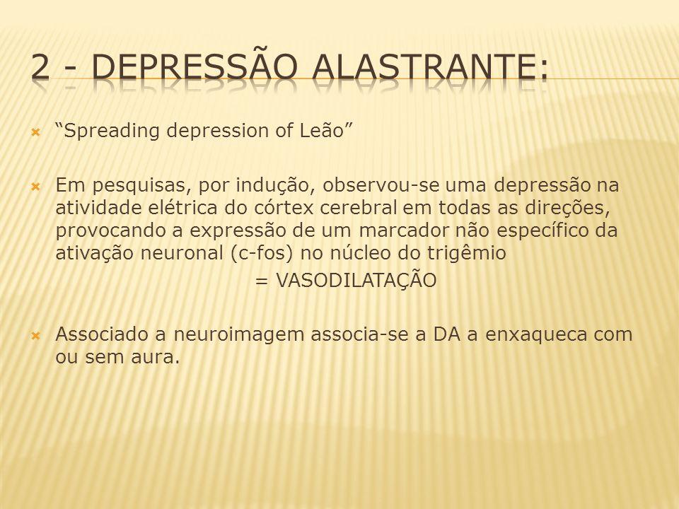 2 - Depressão Alastrante: