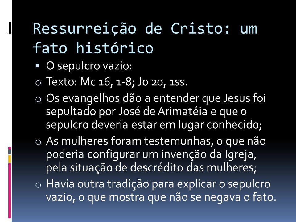 Ressurreição de Cristo: um fato histórico