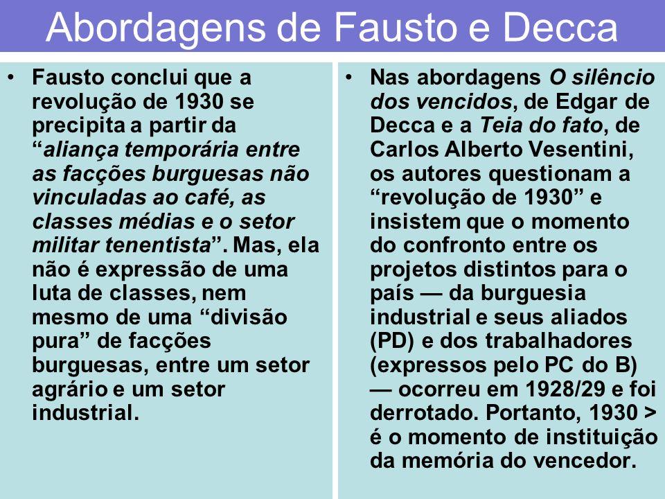 Abordagens de Fausto e Decca