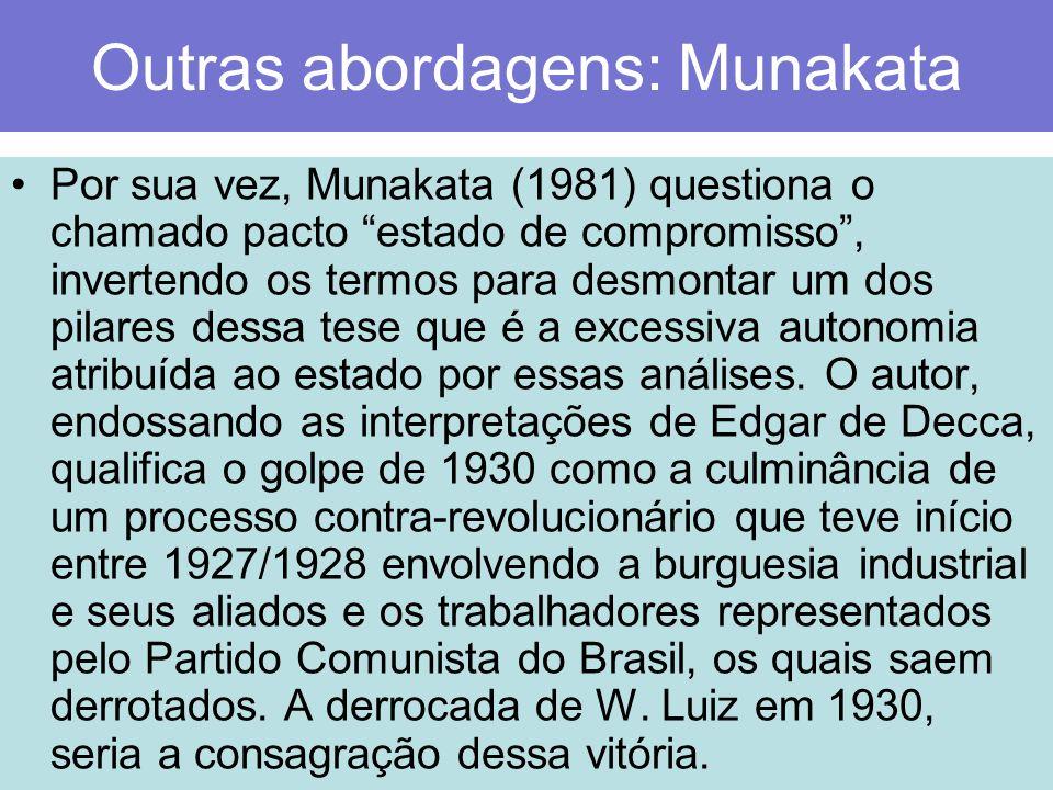 Outras abordagens: Munakata