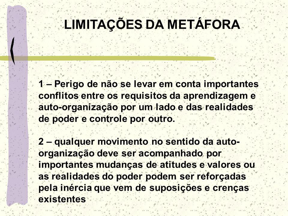 LIMITAÇÕES DA METÁFORA