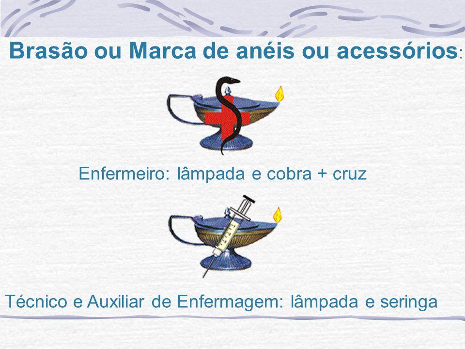 Brasão ou Marca de anéis ou acessórios: