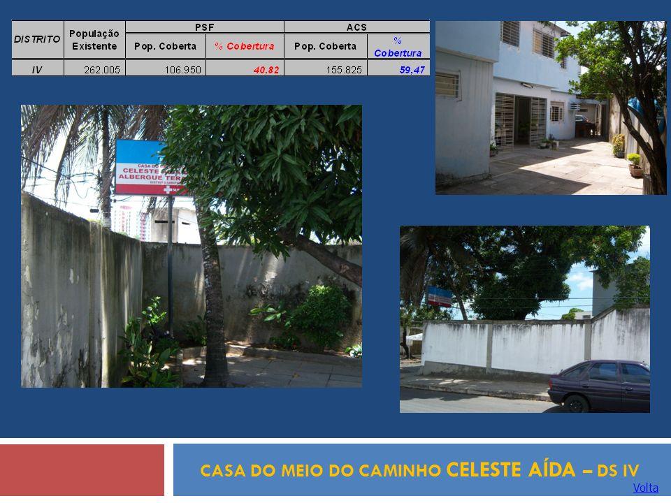 CASA DO MEIO DO CAMINHO CELESTE AÍDA – DS IV
