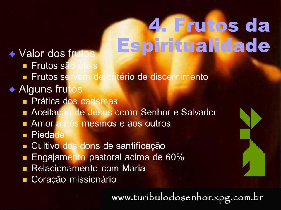 4. Frutos da Espiritualidade