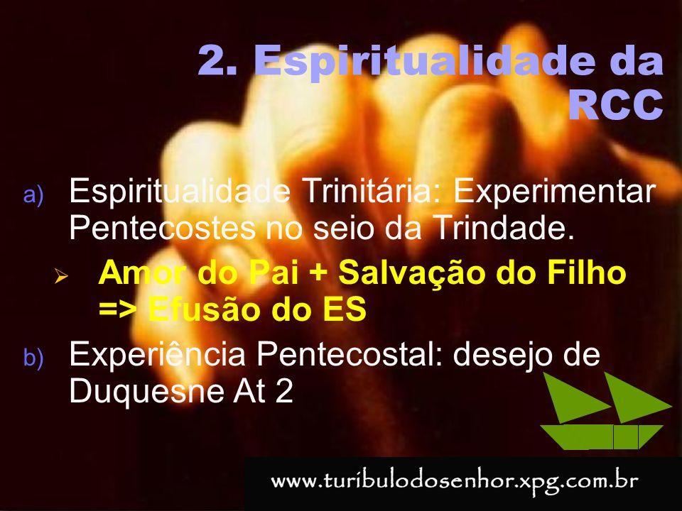 2. Espiritualidade da RCC
