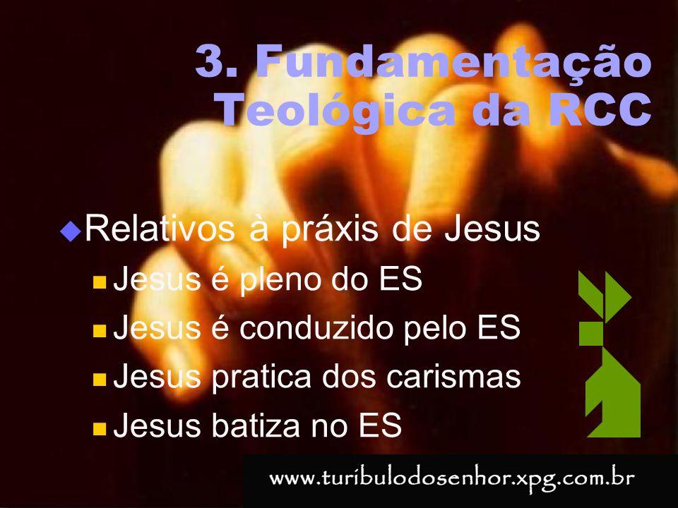 3. Fundamentação Teológica da RCC