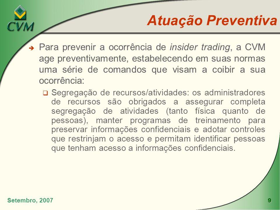 Atuação Preventiva