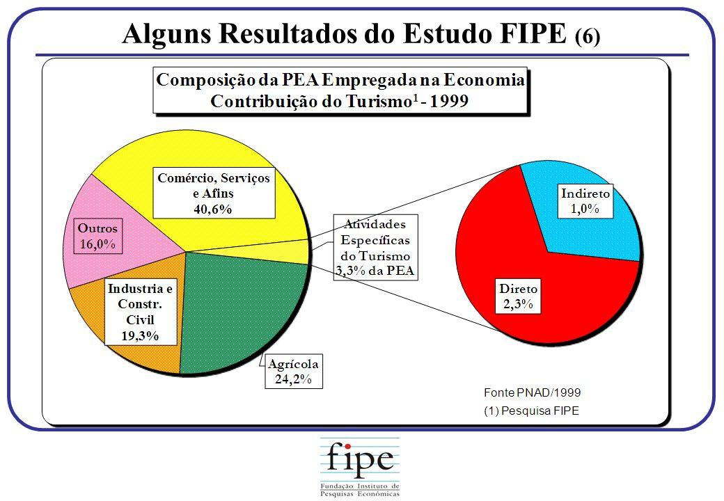 Alguns Resultados do Estudo FIPE (6)