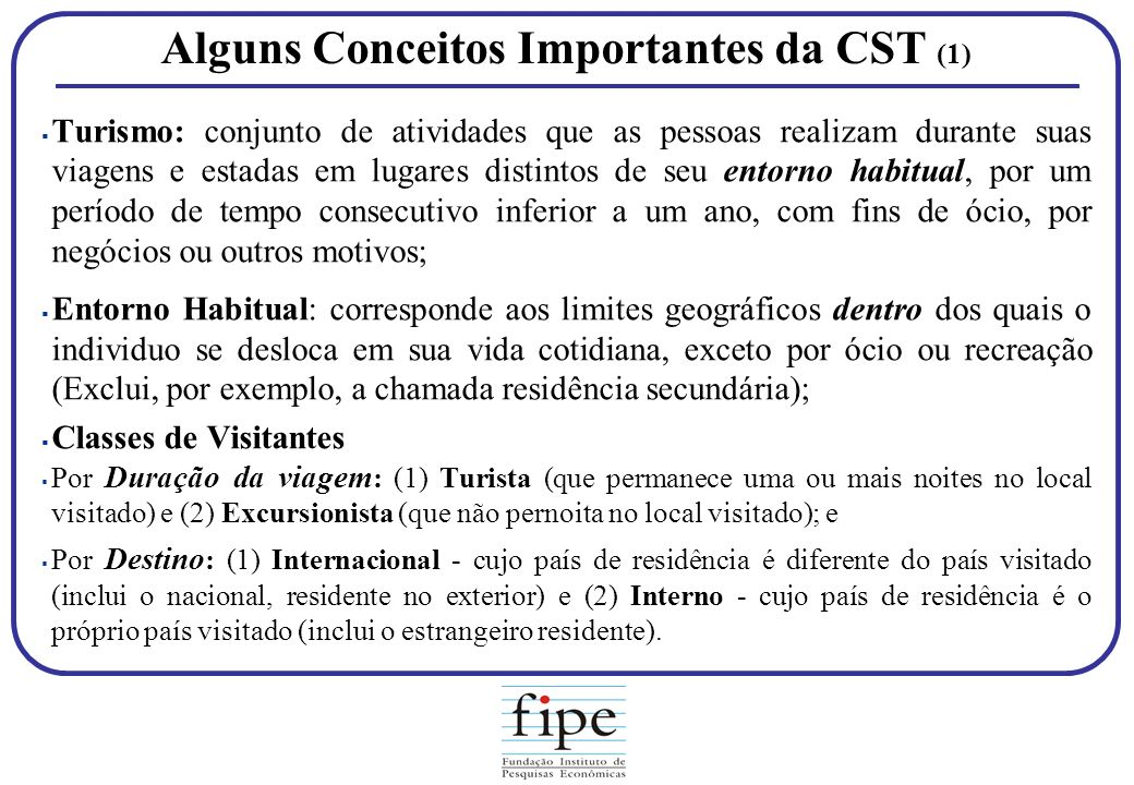 Alguns Conceitos Importantes da CST (1)