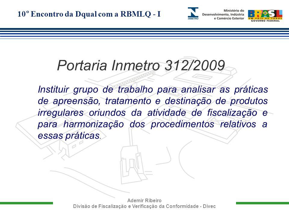 Portaria Inmetro 312/2009
