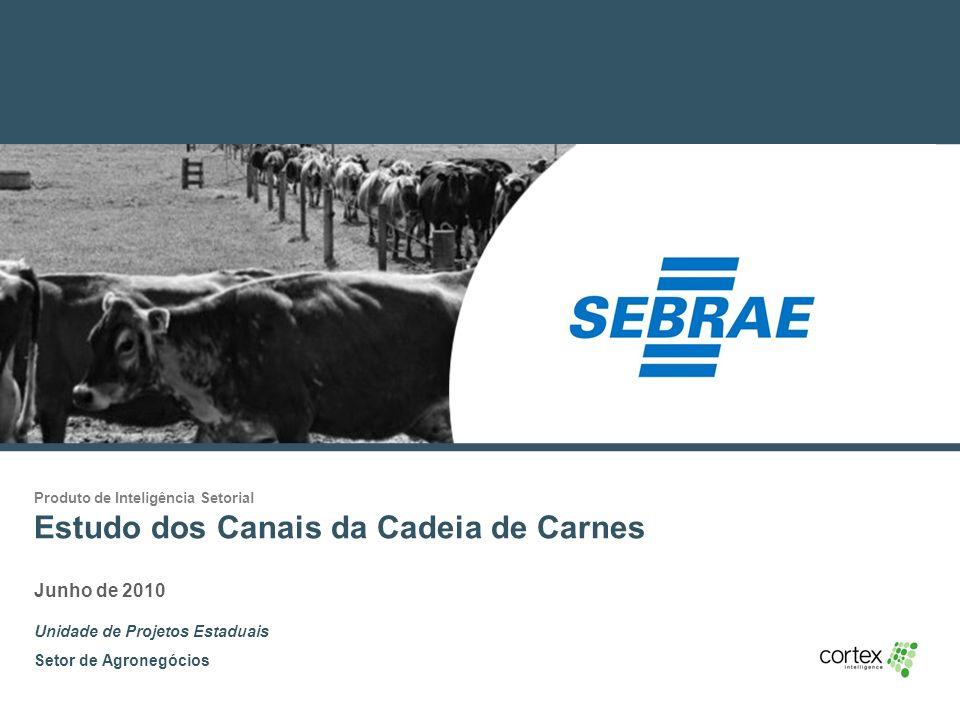 Estudo dos Canais da Cadeia de Carnes