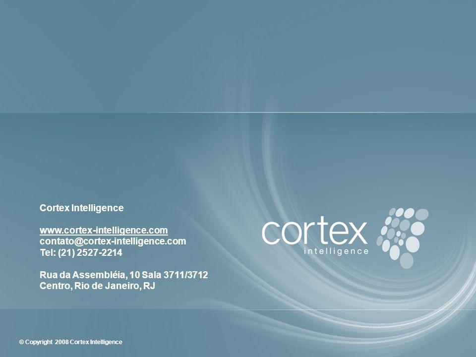 Cortex Intelligencewww.cortex-intelligence.com. contato@cortex-intelligence.com. Tel: (21) 2527-2214.