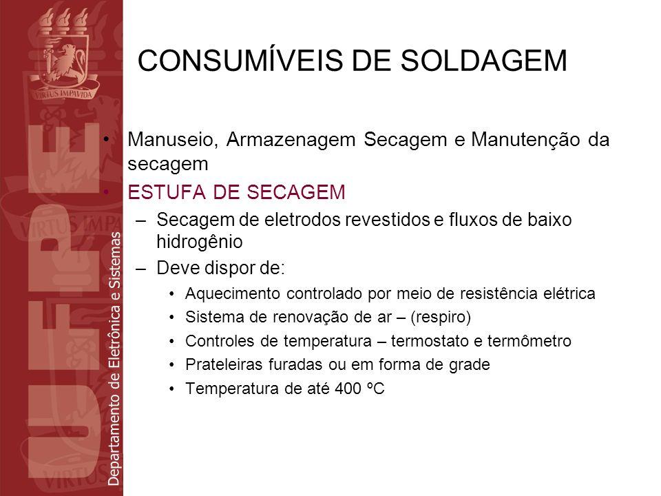 CONSUMÍVEIS DE SOLDAGEM