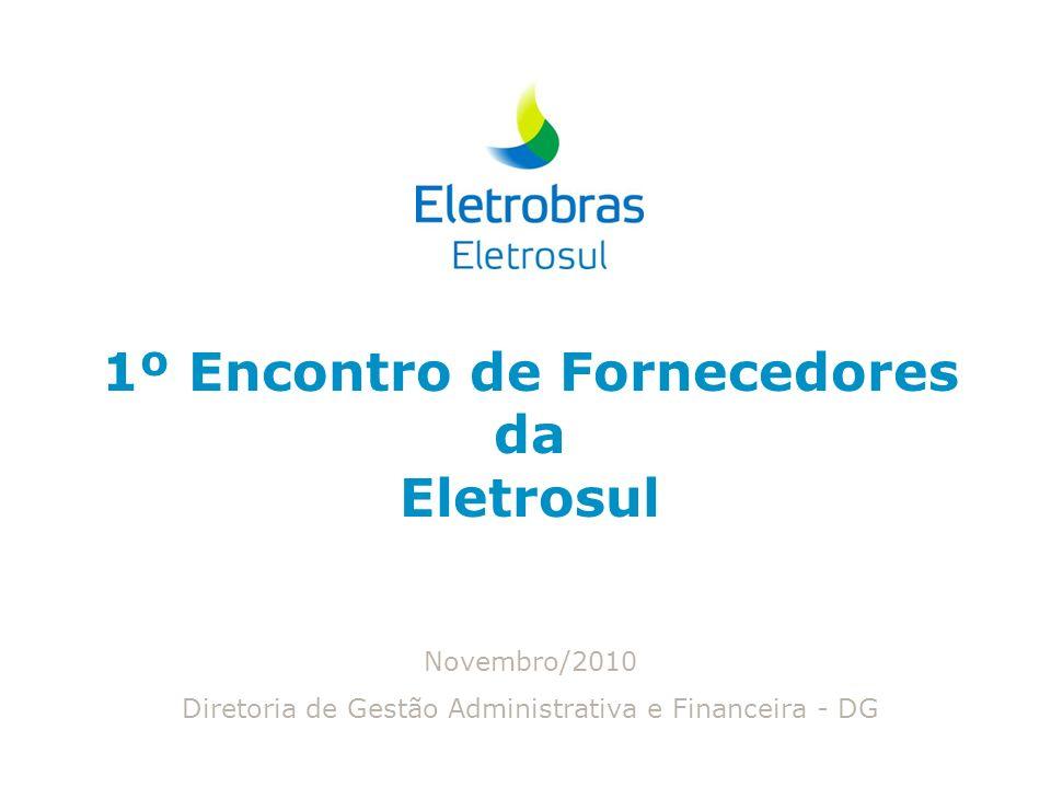 1º Encontro de Fornecedores da Eletrosul