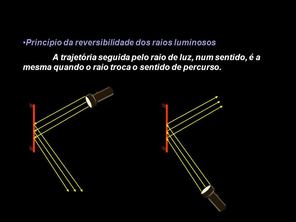 Princípio da reversibilidade dos raios luminosos