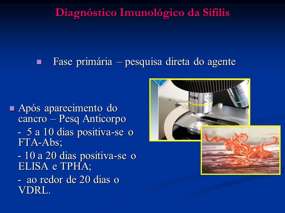 Diagnóstico Imunológico da Sífilis