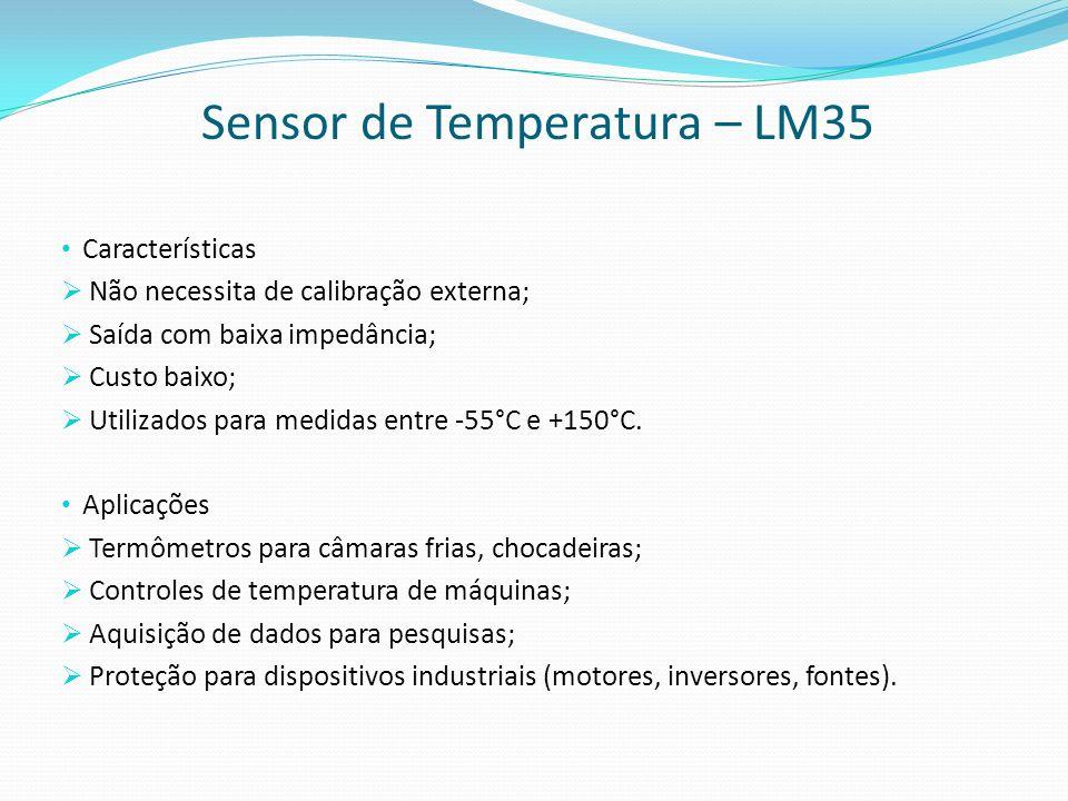 Sensor de Temperatura – LM35