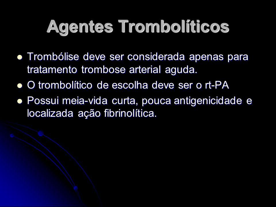 Agentes Trombolíticos