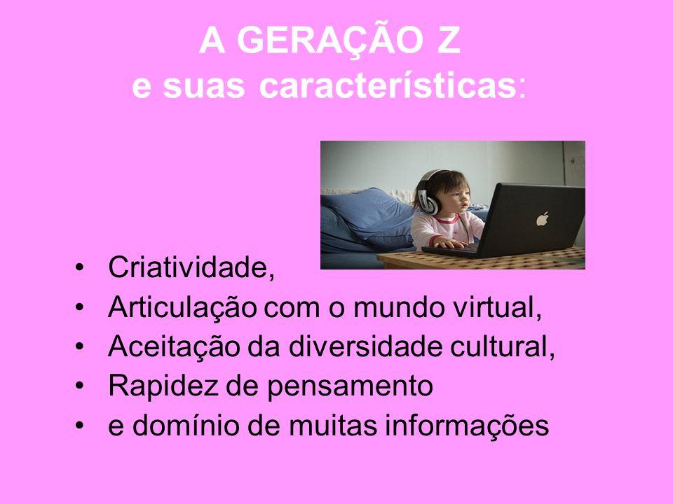 A GERAÇÃO Z e suas características: