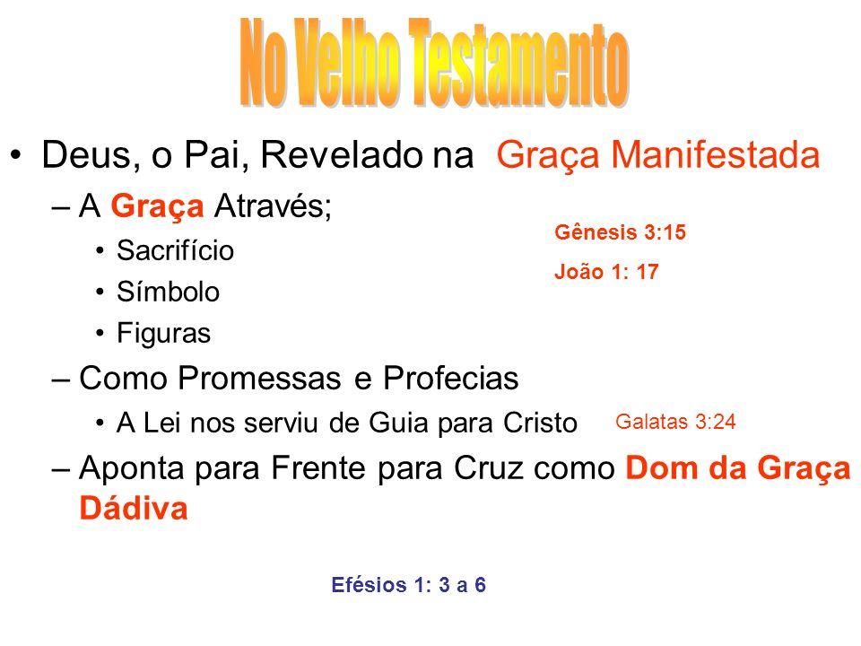 No Velho Testamento Deus, o Pai, Revelado na Graça Manifestada