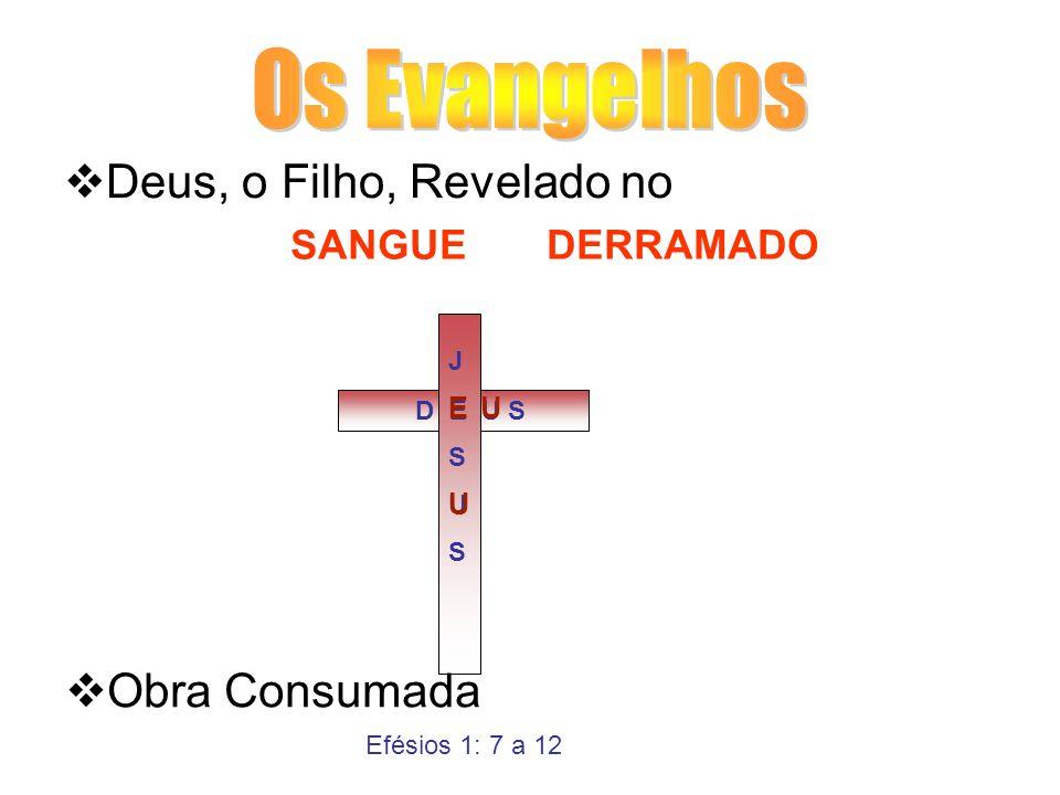 Os Evangelhos Deus, o Filho, Revelado no Obra Consumada