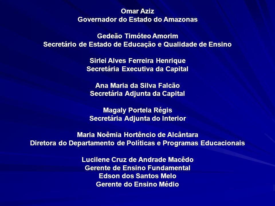 Governador do Estado do Amazonas Gedeão Timóteo Amorim