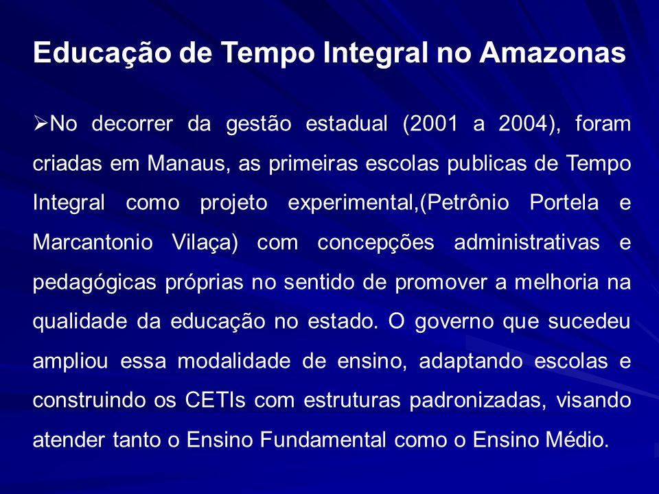 Educação de Tempo Integral no Amazonas