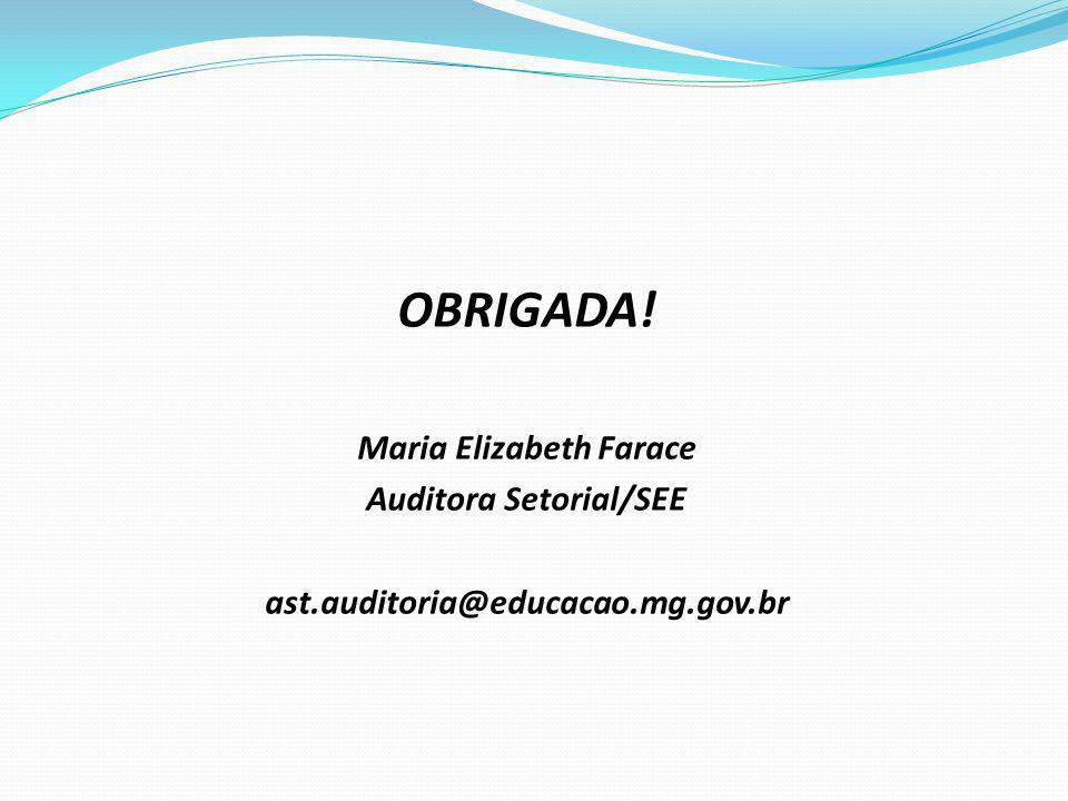Maria Elizabeth Farace Auditora Setorial/SEE